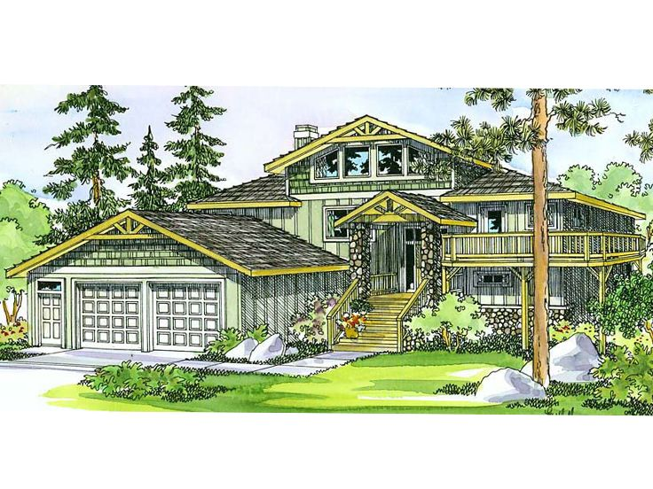 Northwestern House Plan, 051H-0067