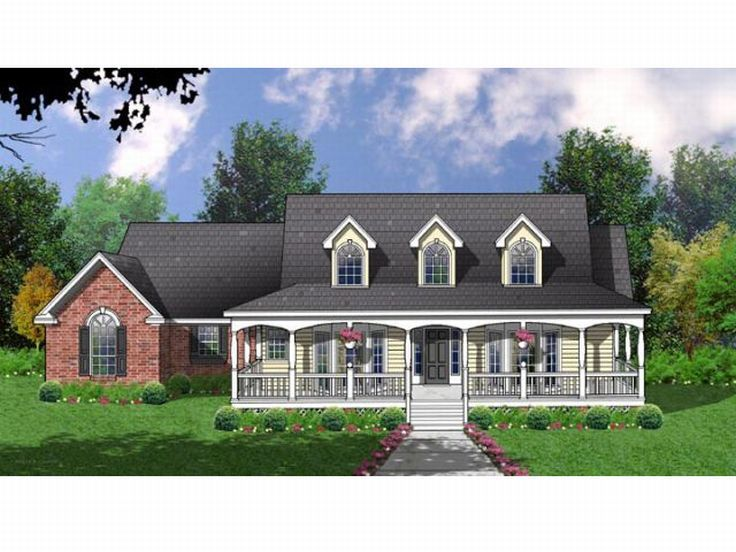 Country House Plan, 015H-0094