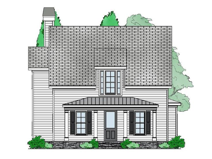 Small House Plan, 053H-0090