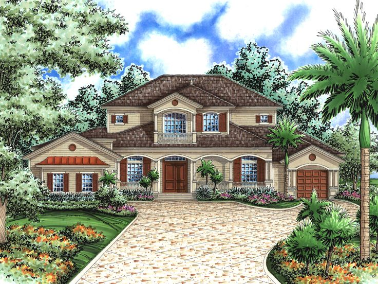 Two-Story House Plan, 040H-0082
