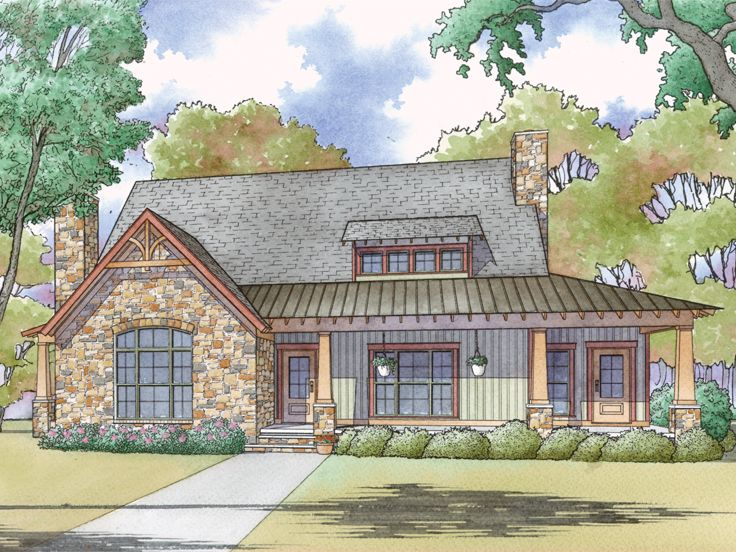 Country House Plan, 074H-0053