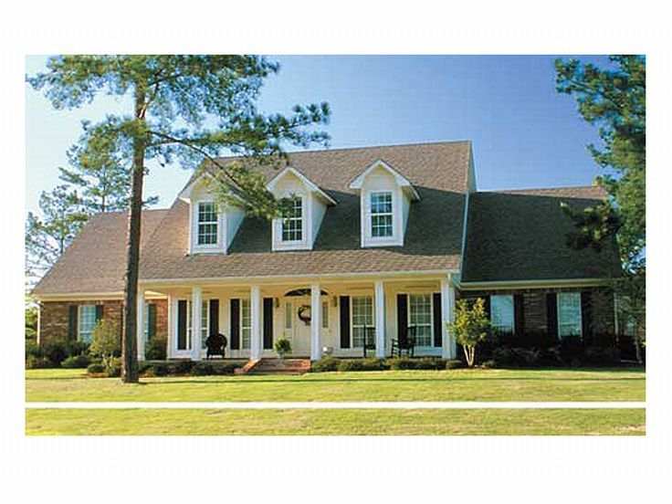 Plan 025h 0013 find unique house plans home plans and for Southern style ranch home plans