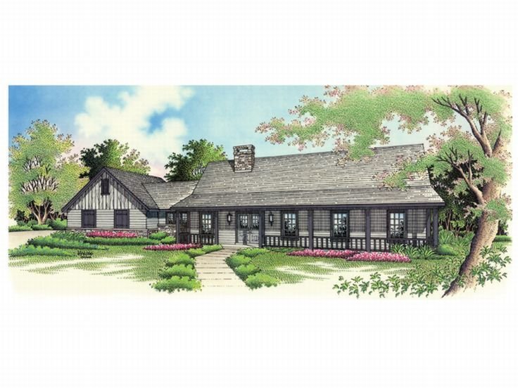 Country House Design, 021H-0081