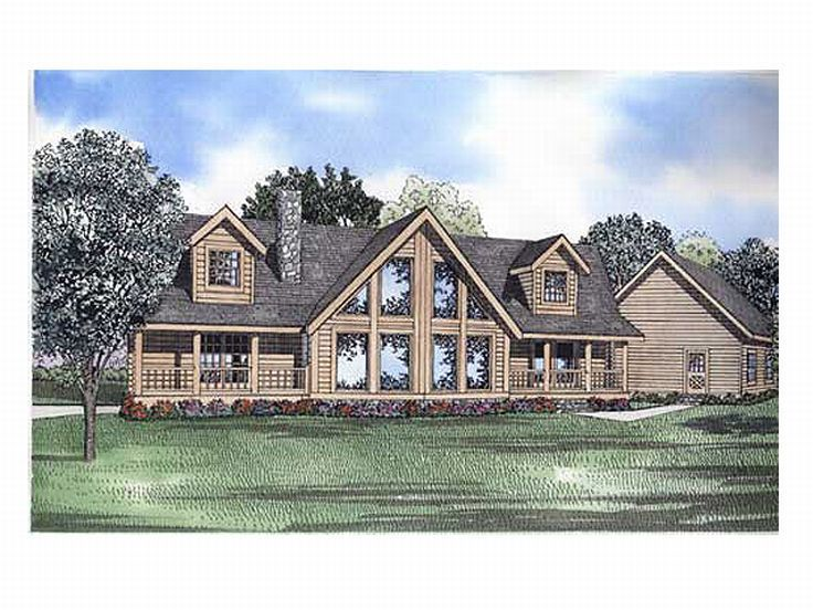 Waterfront House Plan, 025L-0043