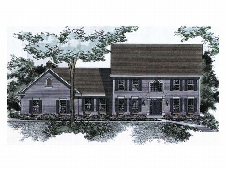 Cape Cod House Plan, 023H-0041