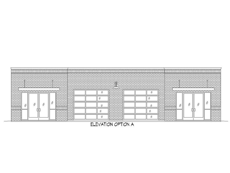 Commercial Building Plans Strip Mall Design With Office