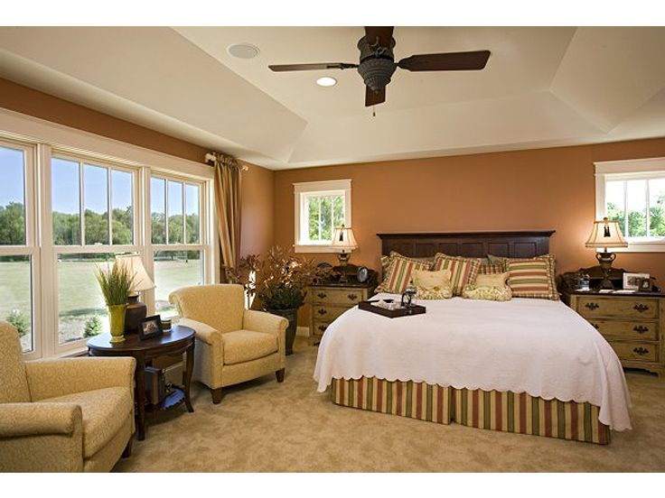 Master Bedroom Photo, 007H-0125
