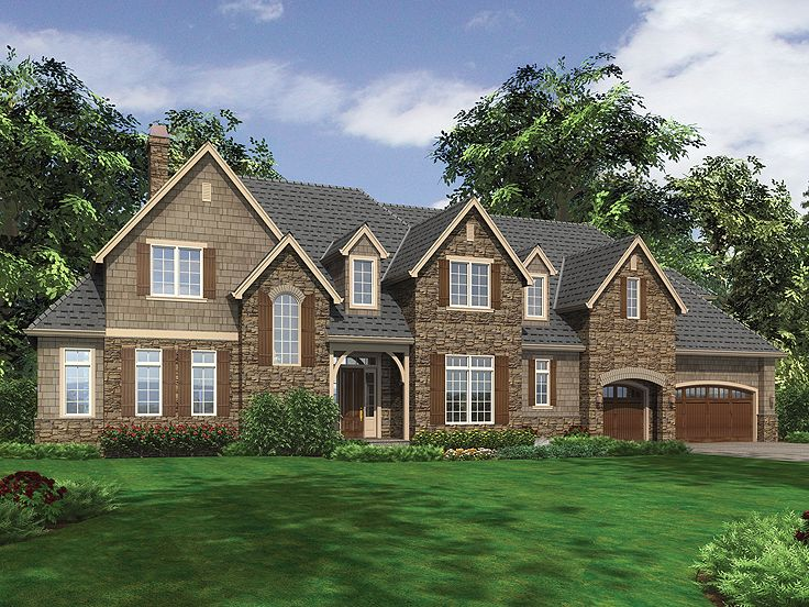 Craftsman European Home, 034H-0050