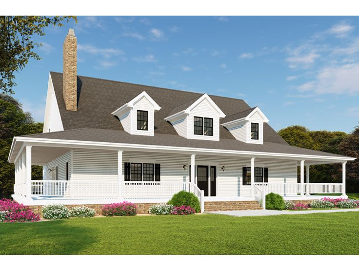 Country House Plan, 074H-0085