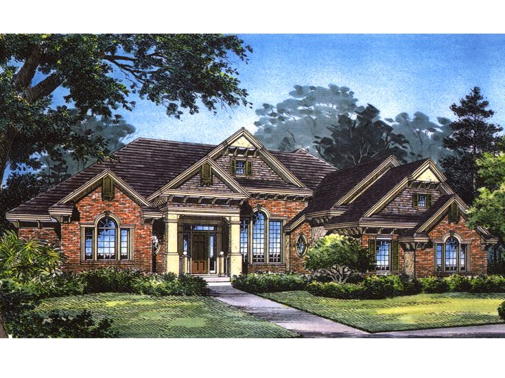 Traditional Home Plan, 043H-0201
