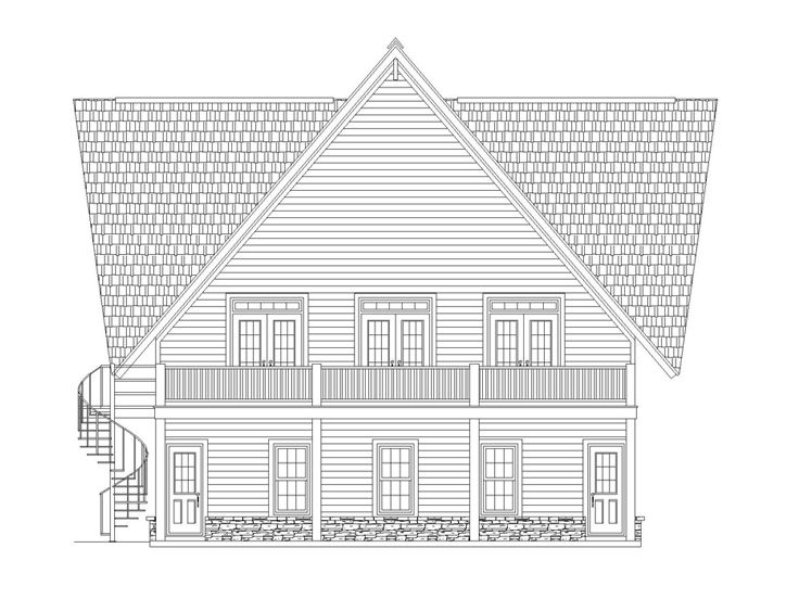 Carriage House Plan, 006G-0118