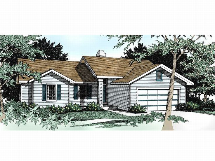 Small House Plan, 026H-0008
