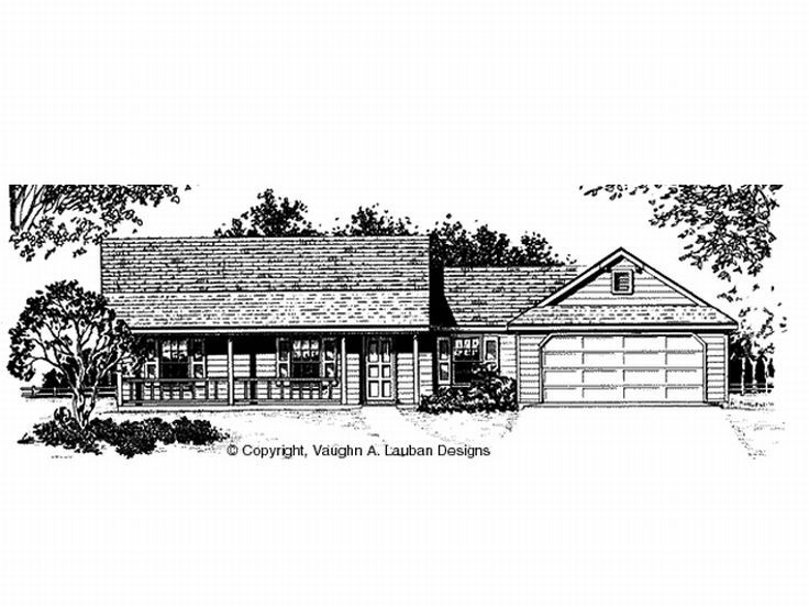 Small Home Plan, 004H-0006