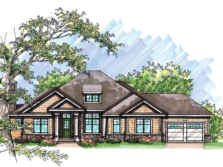 1-Story House Plan, 020H-0211