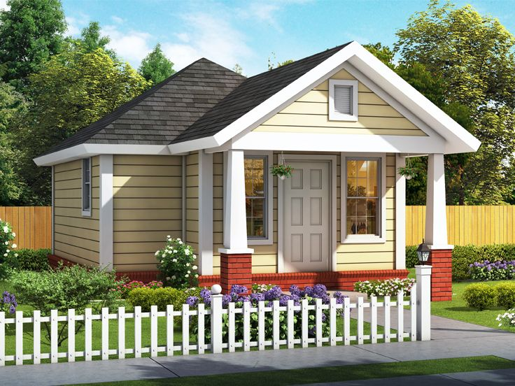 Tiny House Plan, 059H-0226