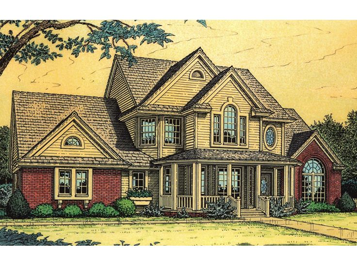2-Story House Plan, 002H-0012