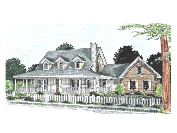 Country House Plan, 059H-0069