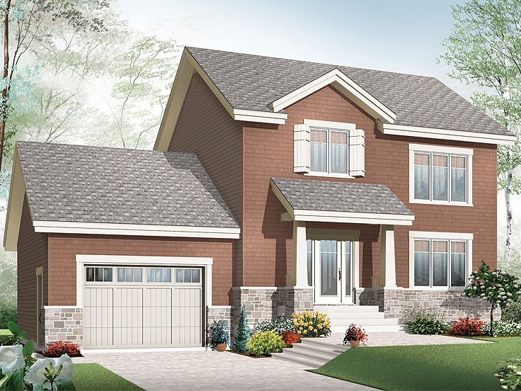 Affordable house plans two story affordable home plan for Cheap two story houses