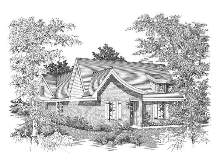 European Home Plan, 061H-0047