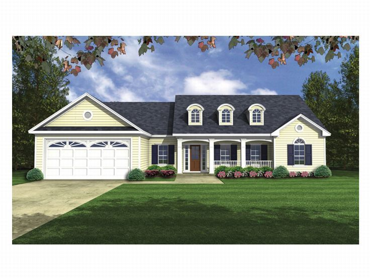 Country Home Plan, 001H-0054