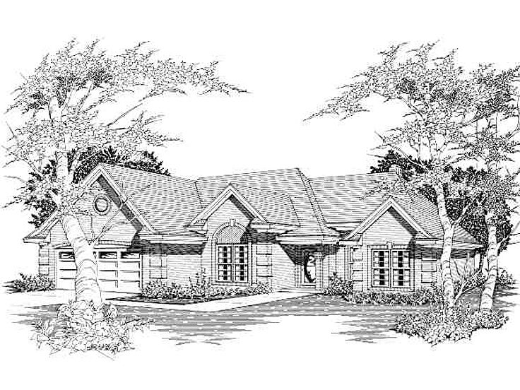 Traditional House Plan, 061H-0046
