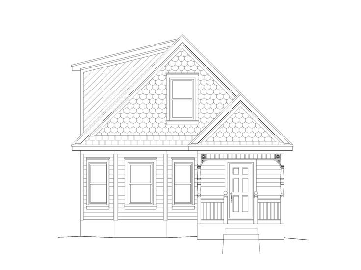 Affordable House Plan, 062H-0020