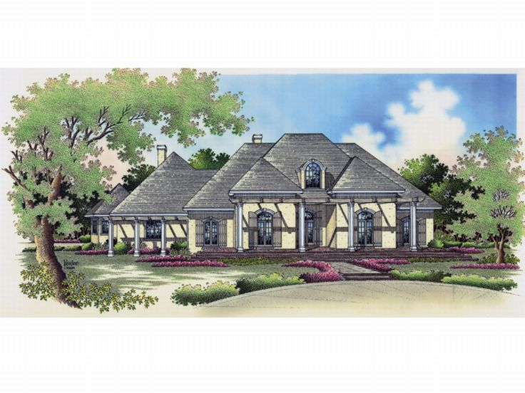 Sunbelt House Plan, 021H-0196