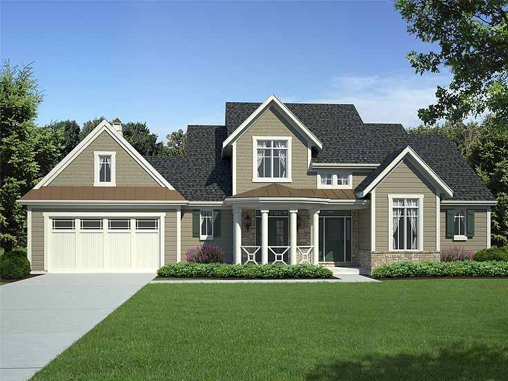 Country House Plan, 046H-0065
