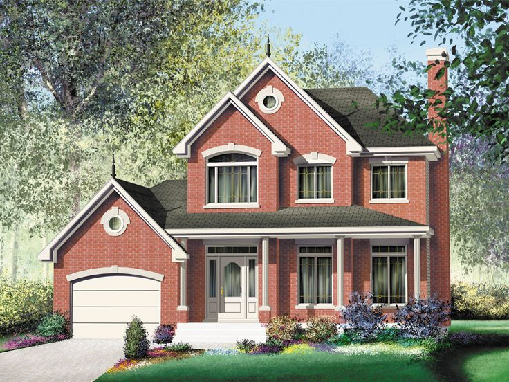 Small Traditional House Plan, 072H-0116