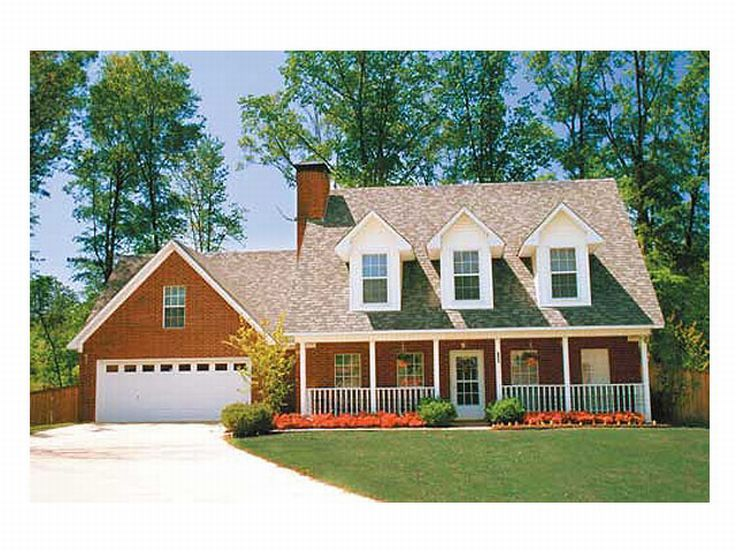 Country Home Plan Photo, 025H-0017