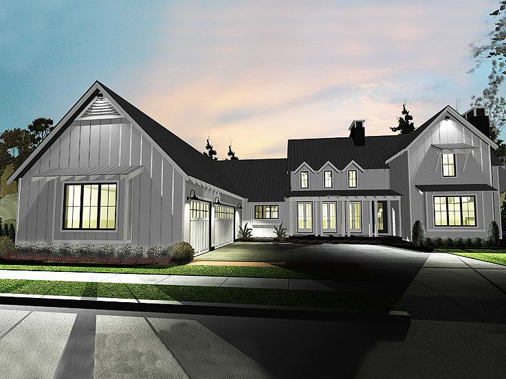 Country House Plan, 050H-0135