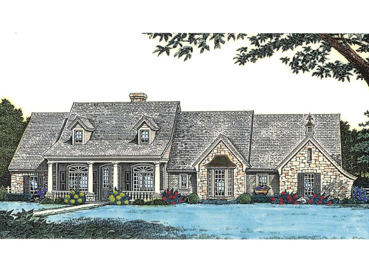 Ranch House Plan, 002H-0067