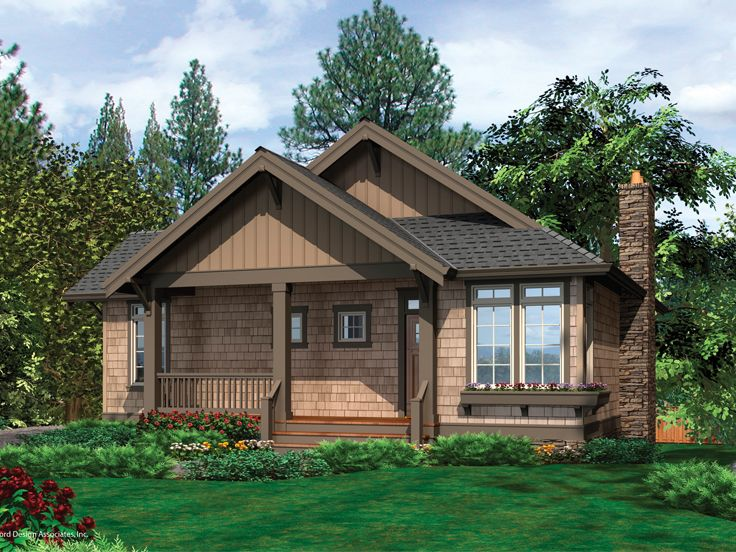 Small House Plan, 034H-0031