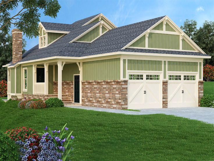 Vacation House Plan, 021H-0261