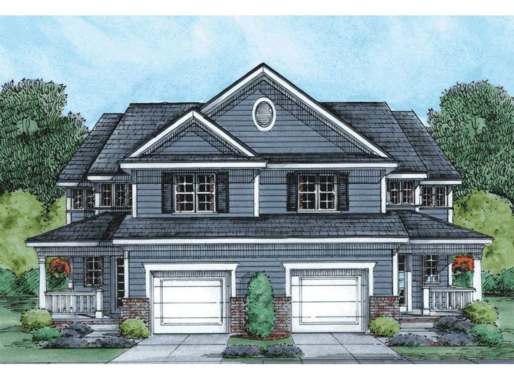 Multi-Family Home Plan, 031M-0035