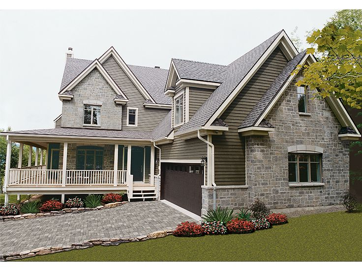 Country House Plan, 027H-0094