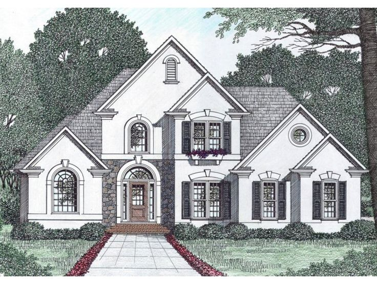 Plan 045h 0053 find unique house plans home plans and for 2 story european house plans
