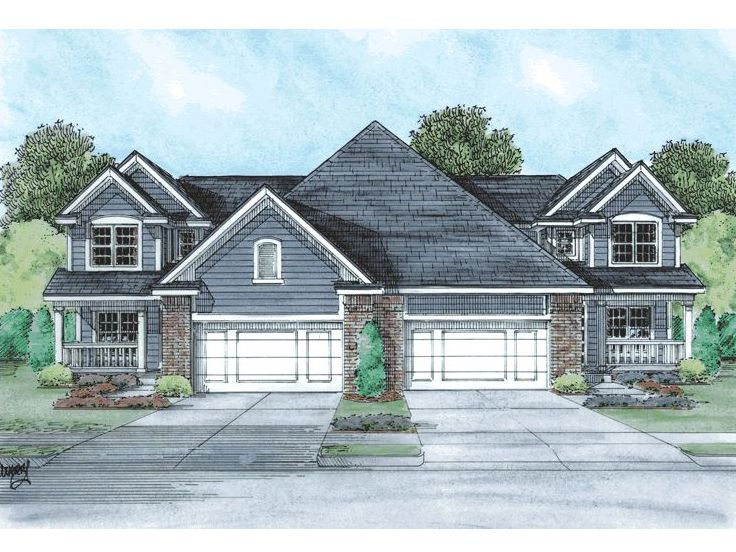 Multi-Family House Plan, 031M-0031