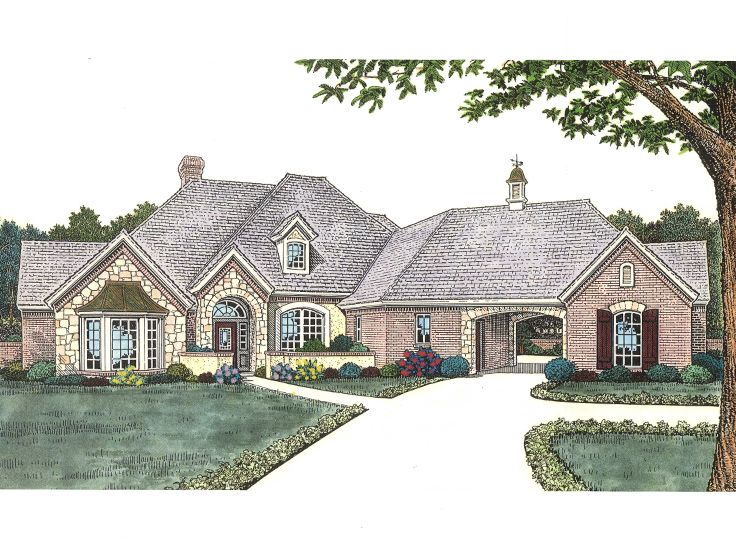 European Home Design, 002H-0085
