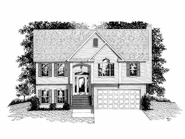 Split Entry Floorplans House Plans