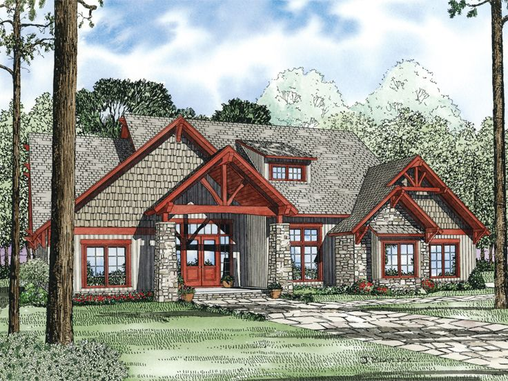 Craftsman Home Design, 025H-0186