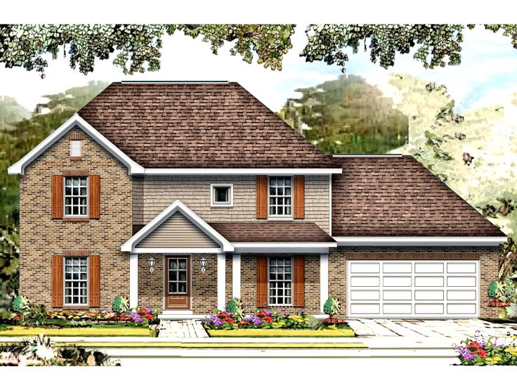 Family Home Plan, 061H-0162