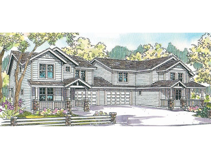 Multi-Family Home Plan, 051M-0014