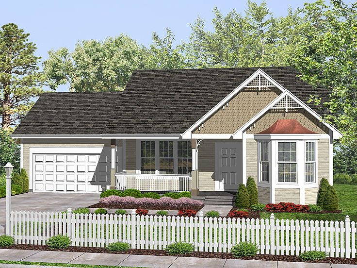 Love Shack Home Plan, 016H-0012