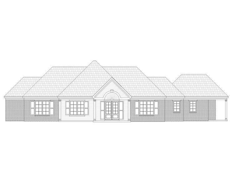 One-Story House Plan, 062H-0014