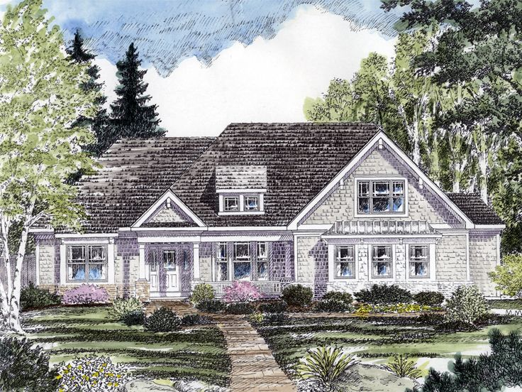 One-Story House Plan, 014H-0083