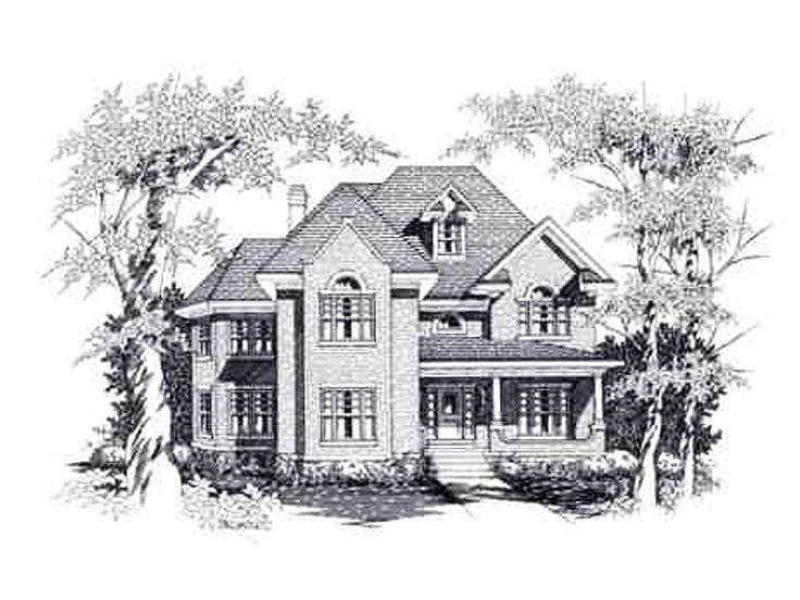 Luxury House Plan, 061H-0115