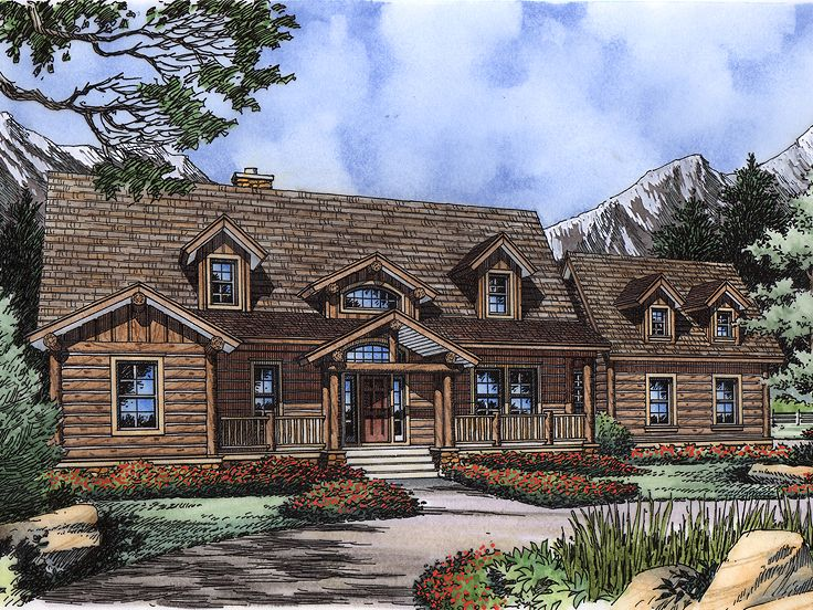 2-Story Home Plan, 043H-0250