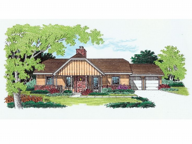 1-Story Home Plan, 021H-0019