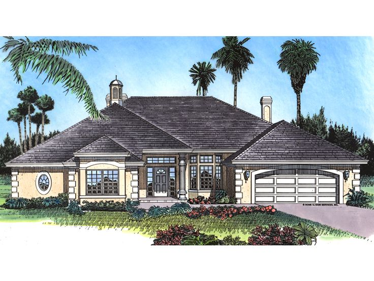 Ranch Home Design, 043H-0246